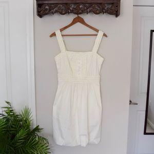 {BCBG Max Azria}  White Bubble Dress